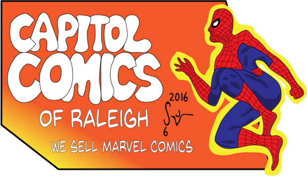 Capitol Comics Spidey Sign